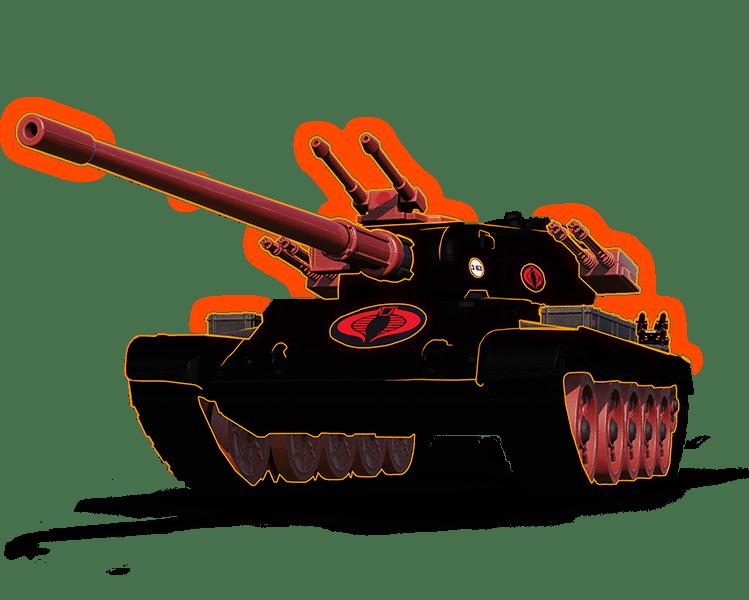 """3D-СТИЛЬ """"КЛЫК КОБРЫ"""" ДЛЯ Т-54 ПЕРВЫЙ ОБРАЗЕЦ"""