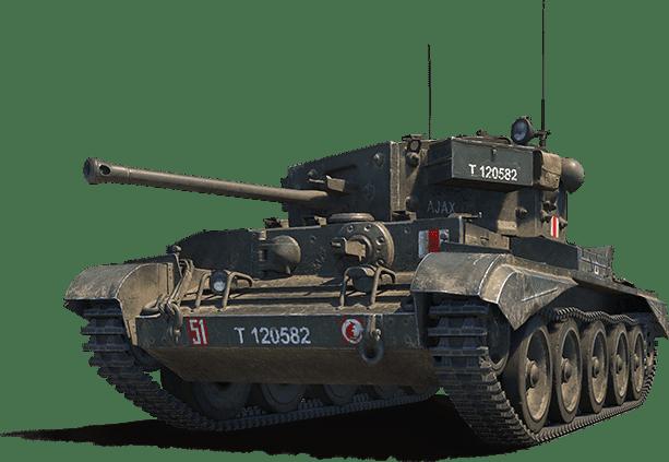Премиум танк CROMWELL B