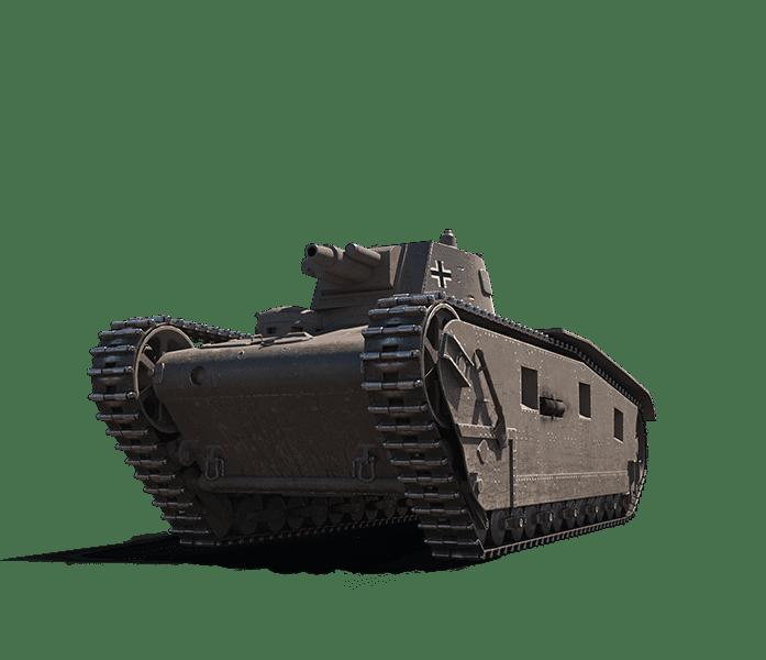 Премиум танк GROSSTRAKTOR - KRUPP