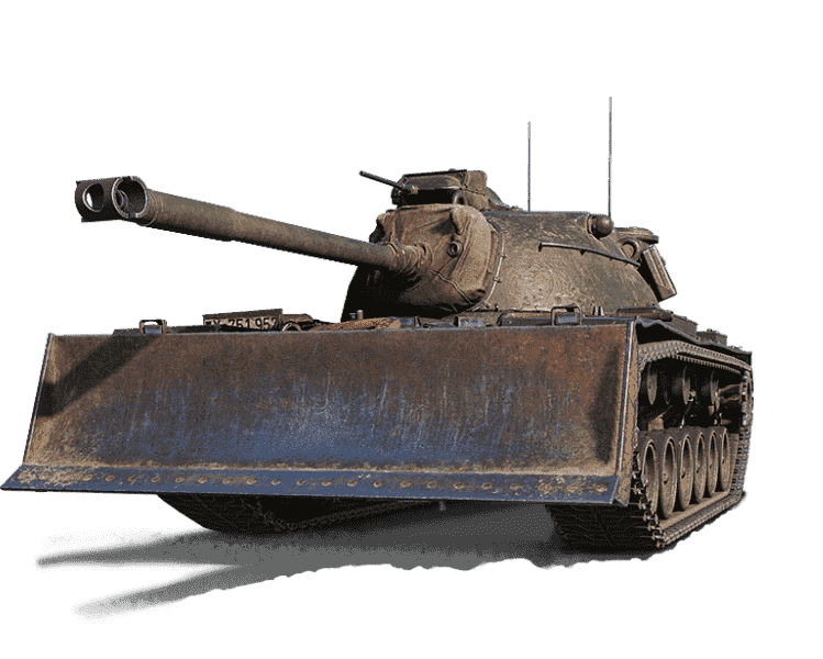 Премиум танк M48A2 RAUMPANZER