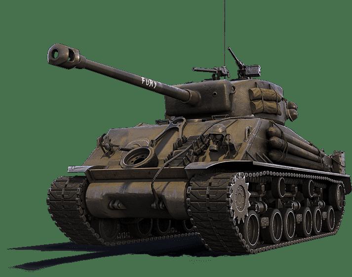 Премиум танк M4A3E8 FURY