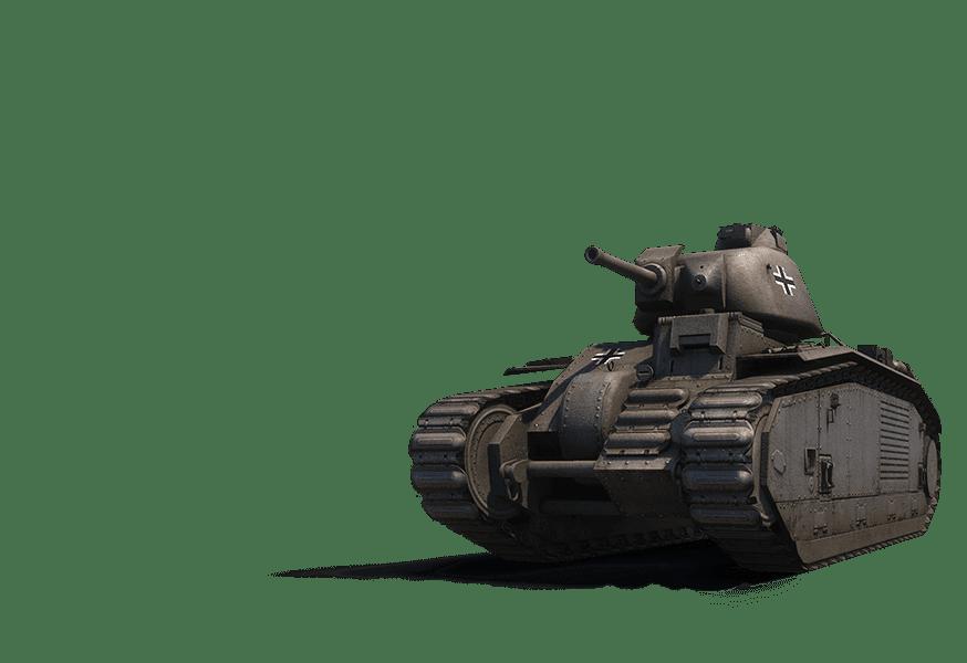 Премиум танк PZ.KPFW. B2 740 (F)
