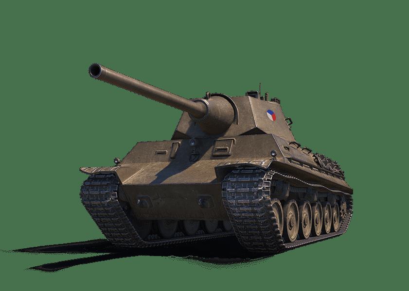 Премиум танк ŠKODA T 40