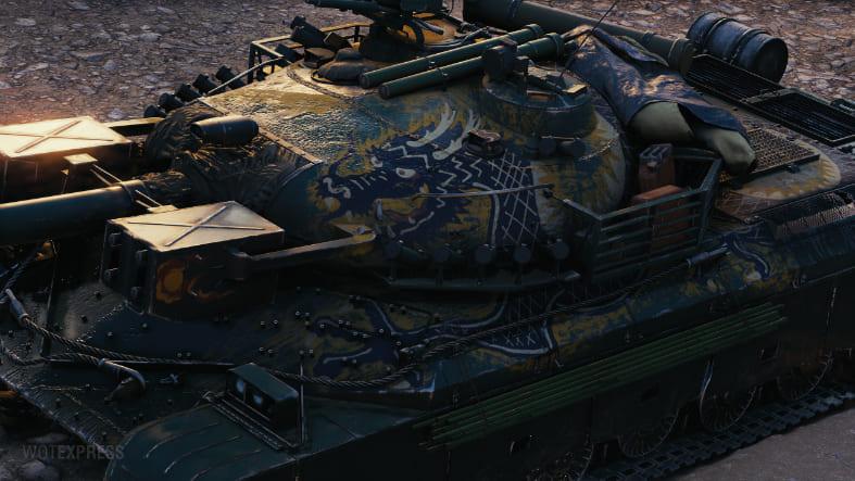 3D-стиль «Последний дракон» для WZ-111 model 5A