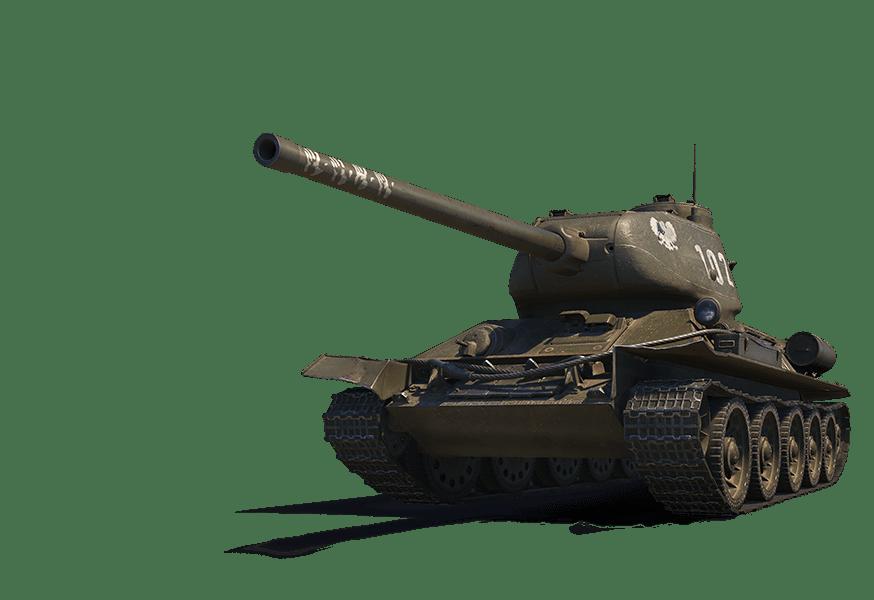 Премиум танк Т-34-85 RUDY