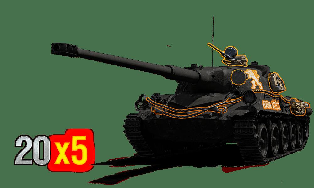 """3D-СТИЛЬ """"ЯН ЖИЖКА"""" ДЛЯ SKODA T 27"""